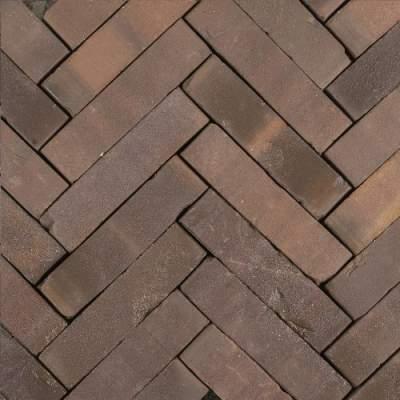 Gebakken waalformaat Hollandse streken 5x20x6cm Peel