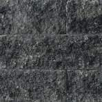 Splitrocks XL getrommeld 15x15x60cm grijs zwart