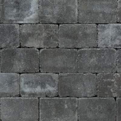 Trommel betonstraatsteen 21x10,5x6cm antraciet antiek gebakken