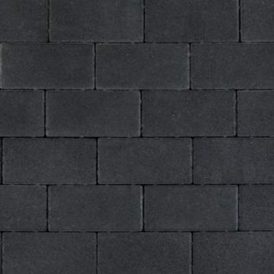 Nature top betonklinker 21x10,5x8cm black
