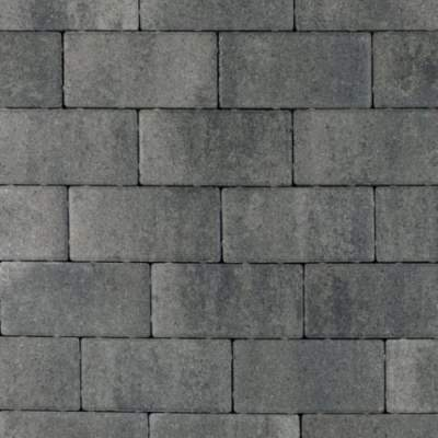 Nature top betonklinker 21x10,5x8cm nero grey