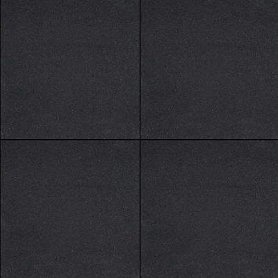 H2O square 60x60x4cm black emotion comfort
