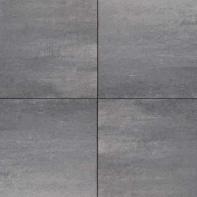 H2O square 60x60x4cm nero grey emotion comfort