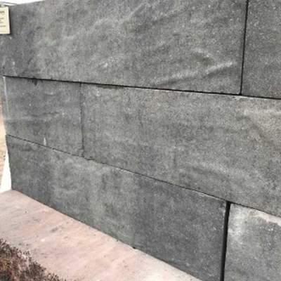Pallaticoblock 15x15x60cm reliëf Nero Grey