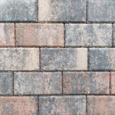 Betonklinker 21x10,5x6cm tricolore