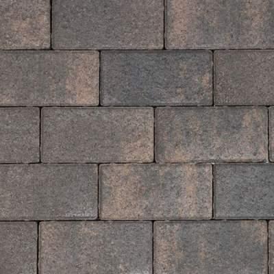 Nature top betonklinker 21x10,5x8cm rusty black