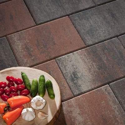 Patio Square 60x60x4cm Tricolore