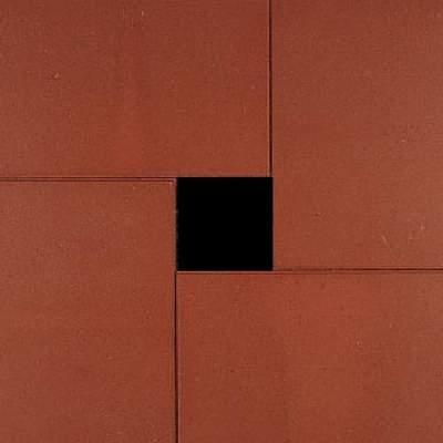 Terrastegels 60x40x5cm rood KOMO