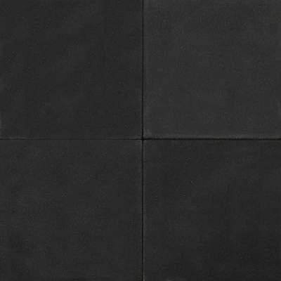 Betontegels 50x50x4cm zwart ZVK zonder facet