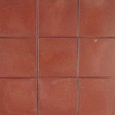 Betontegels 30x30x4,5cm rood