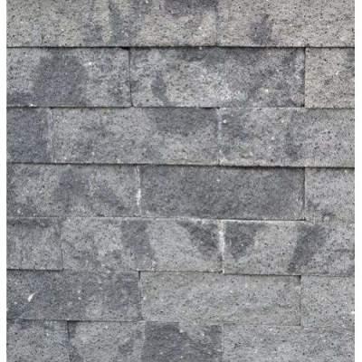Splitrocks XL 15x15x60cm grijs zwart
