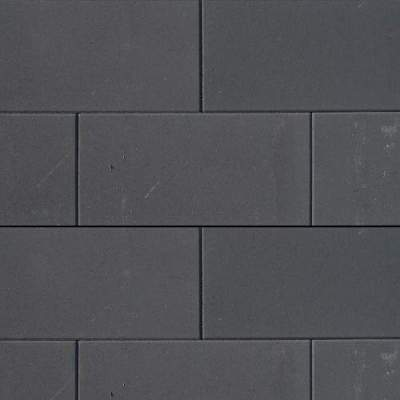H2O Design glad Square 40x80x5cm Black Emotion