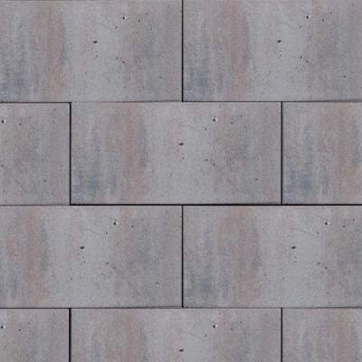 H2O Design glad Square 40x80x5cm Cloudy Trias Emotion