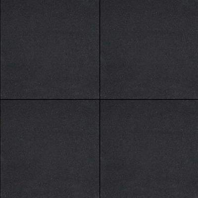 H2O Design glad Square 60x60x6cm Black Emotion