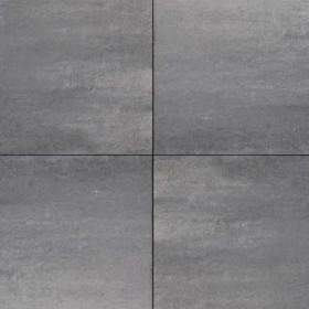 H2O Design glad Square 60x60x5cm Nero Grey Emotion