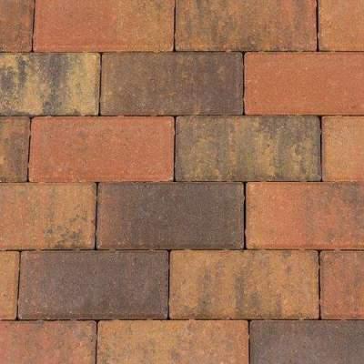 Betonklinker 21x10,5x8cm bruin gv