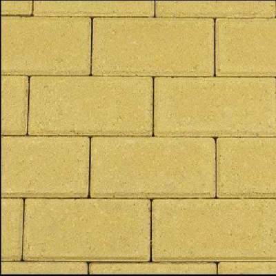 Betonklinker 21x10,5x8cm geel