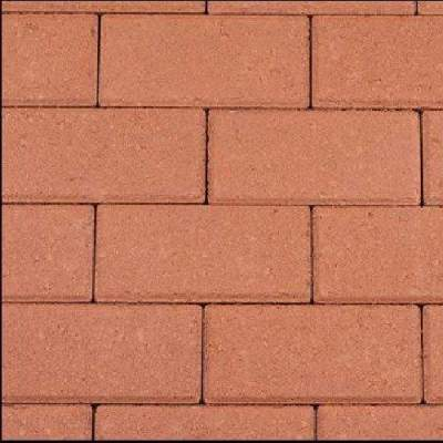 Betonklinker 21x10,5x6cm rood