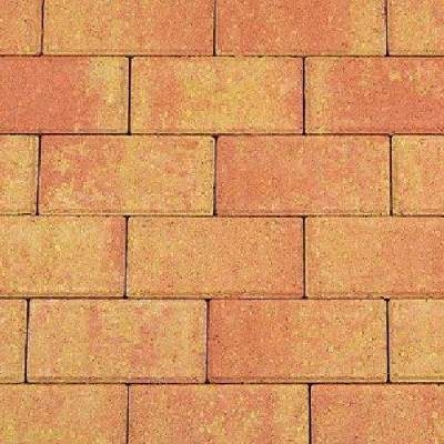 Betonklinker 21x10,5x6cm terracotta geel