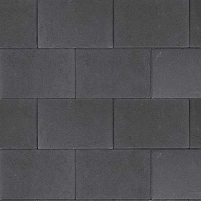 Straksteen 20x30x5cm antraciet
